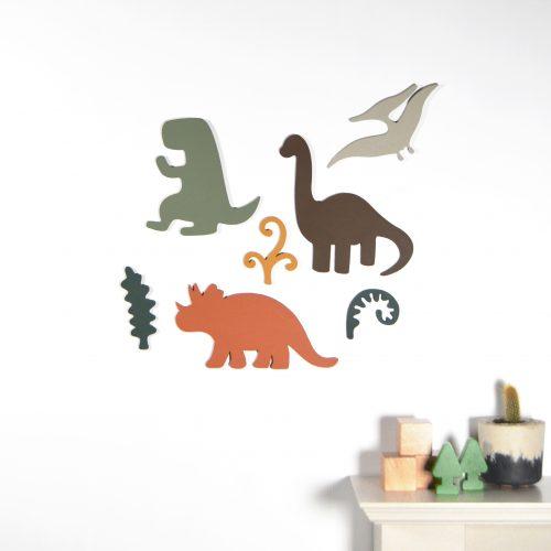 Dinosaur Wooden Wall Art